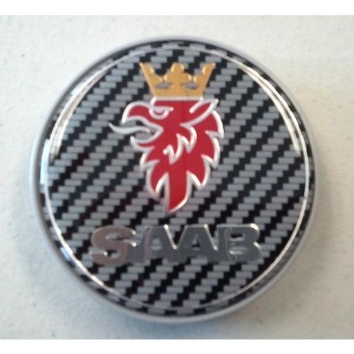 Carbon Fiber Saab Center Cap