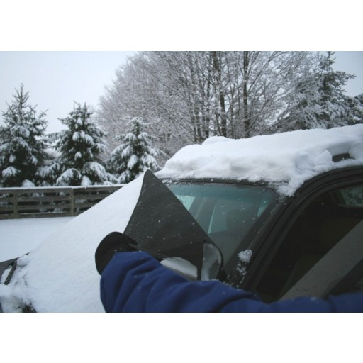 2008-2009 Saab 9-3 Aero Xwd Custom-fit Snow Shade