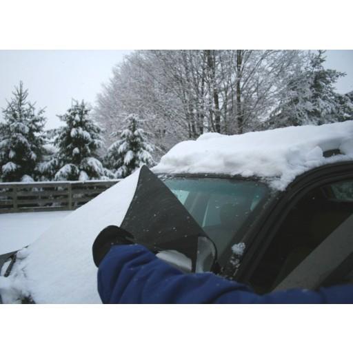 2013 - 2013 Saab 9-3 Sedan Custom-fit Snow Shade