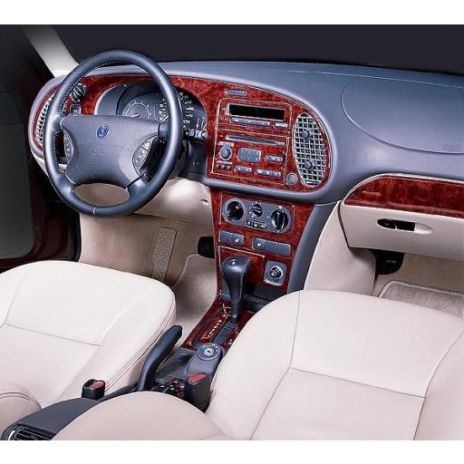 1999-2002 Saab 9-3 2 Door, 4 Door W/ Automatic Cd Player Dash Kit