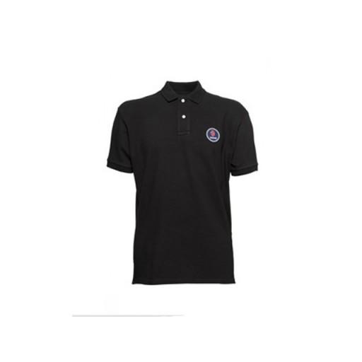 Jet Black Polo Shirt - Small