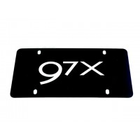 US Sized Saab 9-7X Front Plate