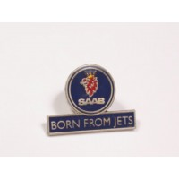 Born from Jets Label Pin