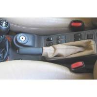 Saab Leather Emergency Brake Boot Color Tan/Beige