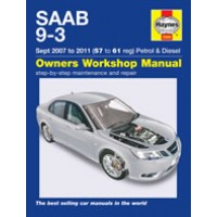2007 - 2011 Saab 9-3 Repair Manual