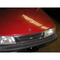 1986-1994 Saab 900 Convertible Hood Badge (Front)