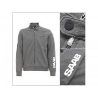 Saab Zip Jacket. Grey