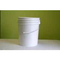5 Gallon White Plastic Car Wash Bucket