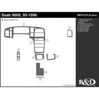 1995-1996 Saab 9000 4 Door Dash Kit